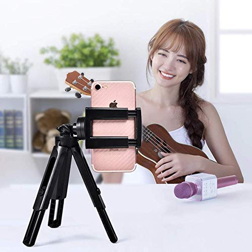 Renyke Adjustable Mobile Phone Tripod Selfie Stick Mini Phone Camera Tripod Stand Cell Phone Holder