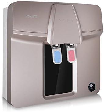 raoluns purificador de agua eléctrico 5 nivel Purification Ro ósmosis inversa 10 litros depósito de agua integrado lls-ro75-b (H5): Amazon.es: Hogar
