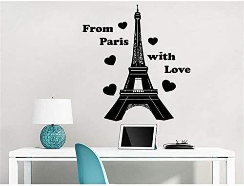 Pegatina De Pared Frases Torre Eiffel De París Desde París