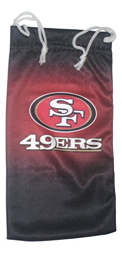 (California Accessories San Francisco 49ers Microfiber Sunglasses Pouch )