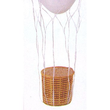 hot air balloon basket - 2