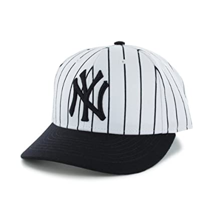 Amazon.com : MLB New York Yankees Mens 47 Brand Striped Bullpen MVP Cap, White, One-Size : Sports Fan Baseball Caps : Sports & Outdoors