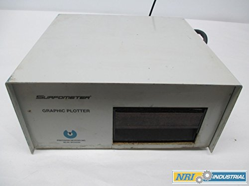 PRECISION PGP-3 SURFOMETER GRAPHIC PLOTTER RECORDERS D301590