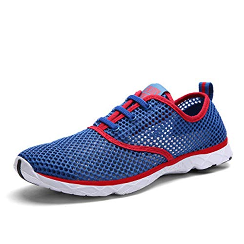 gracosy Women Men's Water Shoes Summer Quick Drying Mesh Slip On Water Shoes Beach Trainer Lightweight Sports Aqua Shoes…