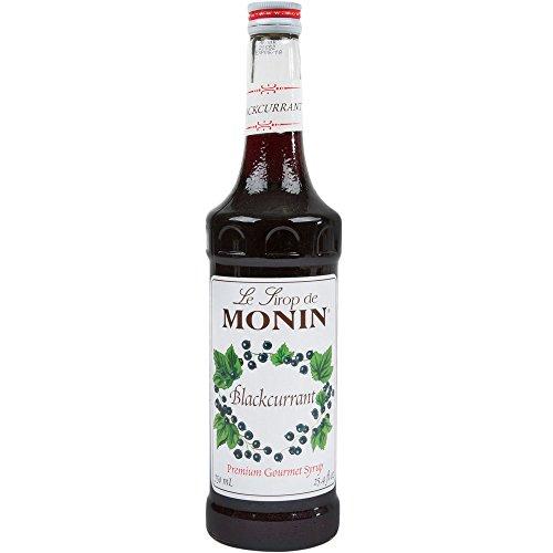 Monin Premium Gourmet Blackcurrant Syrup 750ml Bottle (black currant)
