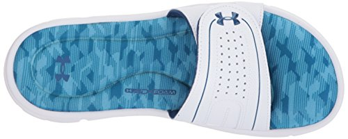 White Under Para Armour Slide Edge Ignite Blue Canoe Moroccan Mujer Blue VIII qB0WAq64