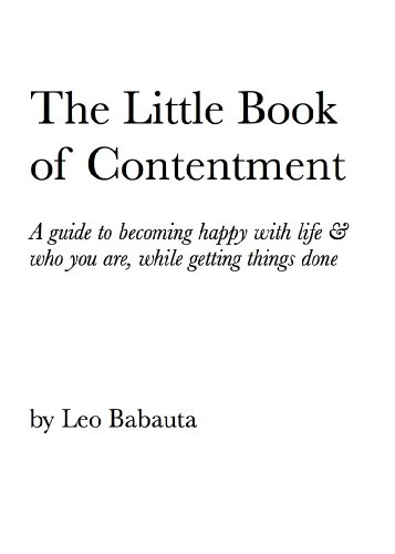 The Little Book of Contentment – Leo Babauta