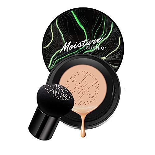 Mushroom Head Air Cushion CC Cream, Natural Moisturizing Highlighting Matte Oil Control Concealer Facial Blemish…