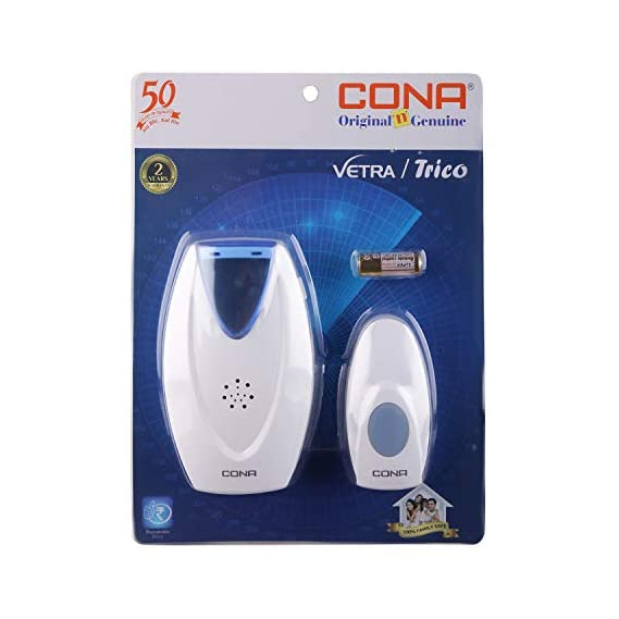 CONA Vetra 3256 D.C. Wireless Door Bell with 32 melodies for selection