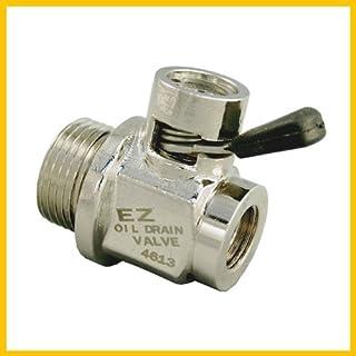 EZ (EZ-103) Silver 12mm-1.25 Thread Size Oil Drain Valve (B00HTV2DQC) | Amazon Products