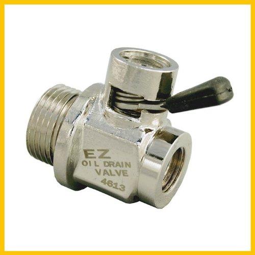 EZ (EZ-105) Silver 20mm-1.5 Thread Size Oil Drain Valve ()