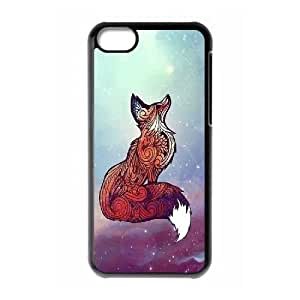 Celestial fox DIY Cell Phone Case for Iphone 6 plus 5.5'',Celestial fox custom cell phone case