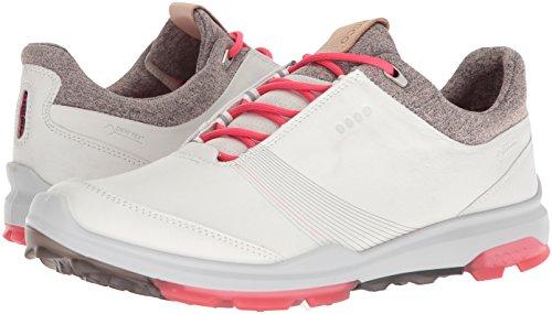Ecco Golf Shoes Women. ECCO Women's Biom Hybrid 3 Gore-Tex Golf Shoe, White/Teaberry, 39 M EU (8-8.5 US) #golf