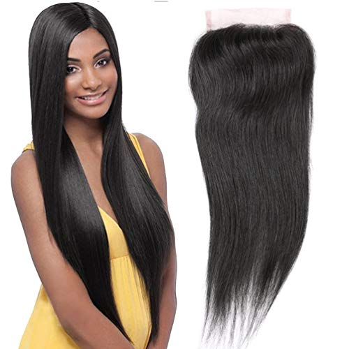 QTHAIR 10A Straight Human Hair Indian Virgin Hair Natural Black 100% Unprocessed Indian Straight Human Hair (14
