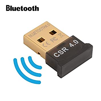 Bluetooth 4.0 USB Dongle Adaptador CSR 4.0 Receptor inalámbrico Bluetooth para PC Windows 10/8/7 / XP / Vista AC827: Amazon.es: Electrónica