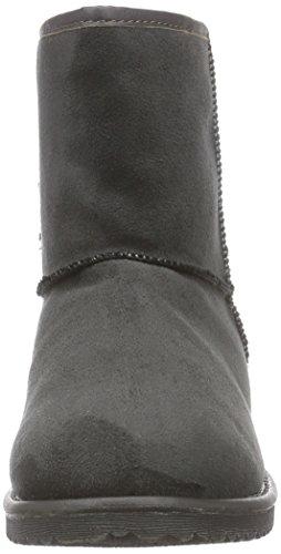Bruno Banani Boot, Bottes Classics Courtes, Doublure Chaude Femme Gris - Grau (Dk.grey 258)