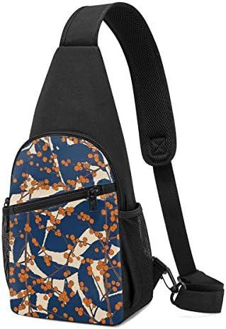 秋の果実 斜め掛け ボディ肩掛け ショルダーバッグ ワンショルダーバッグ メンズ 多機能レジャーバックパック 軽量 大容量