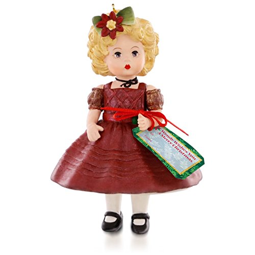 Wendy Wishes You a Merry Christmas Madame Alexander Ornament 2015 Hallmark
