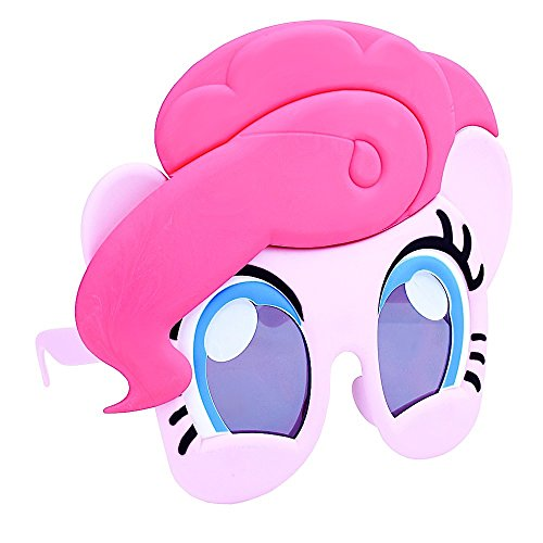 Costume Sunglasses My Little Pony Pinky Pie Sun-Staches Party Favors UV400]()