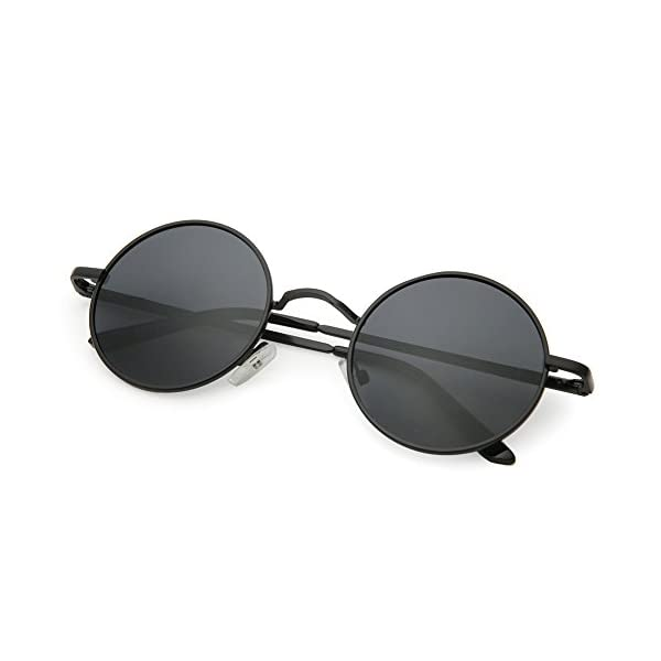 Joopin Polarized Lennon Round Sunglasses Women Men Circle Hippie Sun Glasses 4