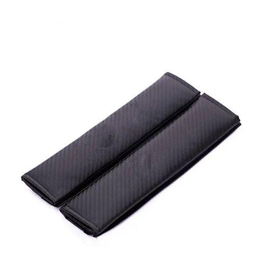 Amooca Carbon Fiber Car Styling Accessories Seat Belt Shoulders Pad Truck Cover For BMW 2pcs