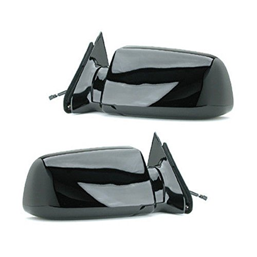 88 - 98 Chevrolet Silverado GMC Sierra Door Mirror Pair Set Power Black Blazer Jimmy Suburban Tahoe Yukon Driver and Passenger by Not OEM (Blazer Door Mirror)