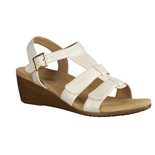 Vionic Glenda - Zapatos De Mujer Sandalias De Tacón Alto / Honda, Beige