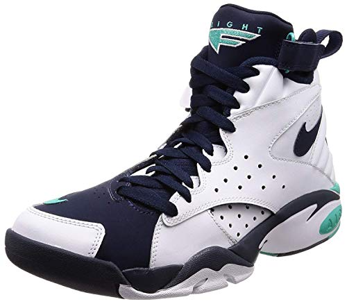 Nike Men's Air Maestro II Ltd, White/Hyper Jade-Obsidian, 11.5 M US (Tops Nike High Men Sneakers Shoes)