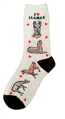 I Love Llamas Gift Collection (Women Cotton Socks)