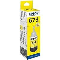 EPSON T6734 SARI ORJİNAL MÜREKKEP C13T67344A