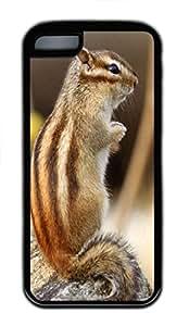 iPhone 5C Case,Animals 134 TPU Custom iPhone 5C Case Cover Black