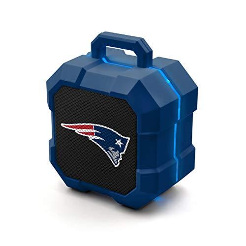 NFL Prime Brands Group ShockBox Bluetooth Speaker, New England Patriots