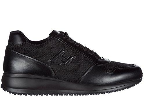 Hogan Uomo Scarpe Da Uomo Scarpe Da Ginnastica Sneakers Interattive N20 H 3d Nero