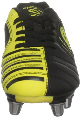 Optimum Men's Velocity Lace Up Boot Black/Yellow P8YPFH
