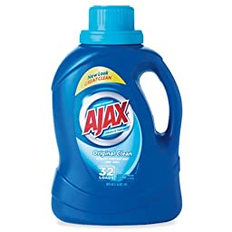 Ajax 49555 2Xultra Liquid Detergent, Original, 50oz Bottle (Case of 6)