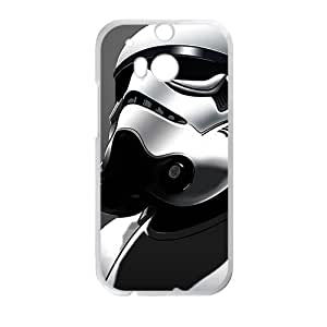 Silver Robot Bestselling Creative Stylish High Quality Hard Case For HTC M8
