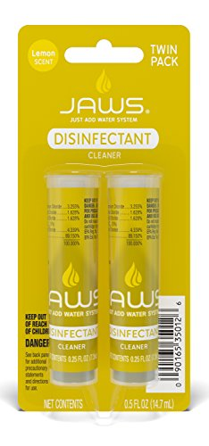 JAWS Disinfectant Cleaner Refill Pack. Includes 2 Refill Pods.