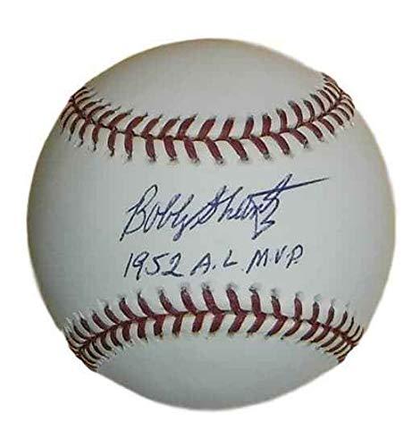 Bobby Shantz Autographed/Signed New York Yankees OML Baseball AL MVP (Bobby Shantz Autographed Baseball)