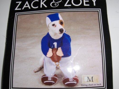 (Zack & Zoey Football Fever Costume Med)