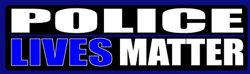 (HumperBumper.com Removable CAR Magnet: Police Lives Matter. Professional Print on Vinyl. 3