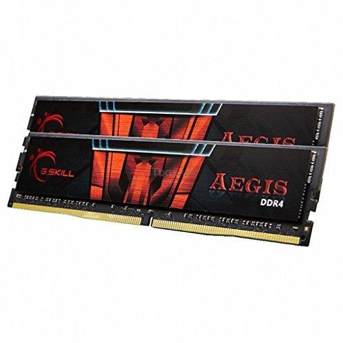 G.SKILL 16GB (2 x 8GB) Aegis DDR4 PC4-24000 3000MHz For Intel Z170 Platform Desktop Memory Model F4-3000C16D-16GISB