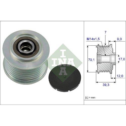 LUK 535021410 Freewheel Clutch alternator