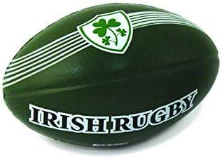 Allied - Pelota de Rugby Irlandesa de 10 cm con diseño de Escudo ...
