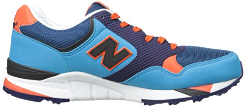 New Balance Hombres M850 Classic Sneaker Blue / Red