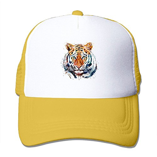 Summer Adult Tiger Head Baseball Cap with Adjustable for Men&Woman ()