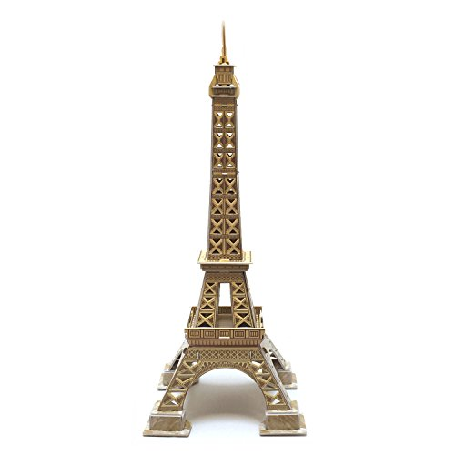 Creative 3D Puzzle Paper Model Eiffel Tower DIY Fun & Educational Toys World Great Architecture Series, 37 (Tower Model)