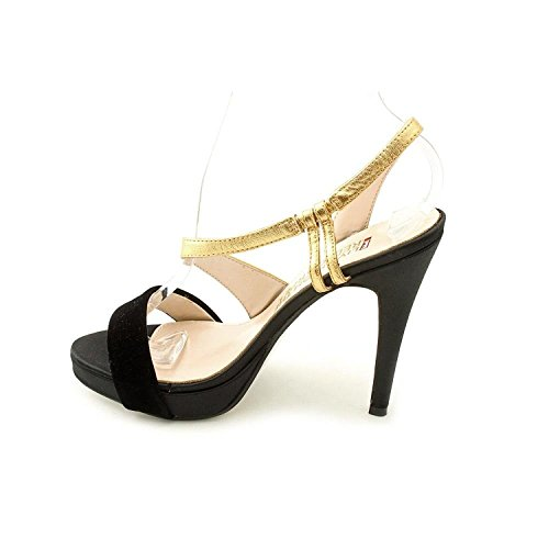E Carpet Womens Live Black From The 6 Red Gold Platforms US Sandals M rIwrqXx