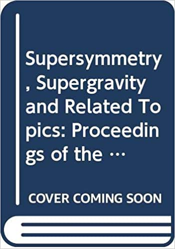 Amazon.com: Supersymmetry, supergravity, and related topics ...