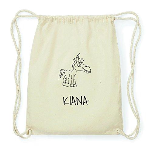JOllipets KIANA Hipster Turnbeutel Tasche Rucksack aus Baumwolle Design: Pferd QVNXryZ6