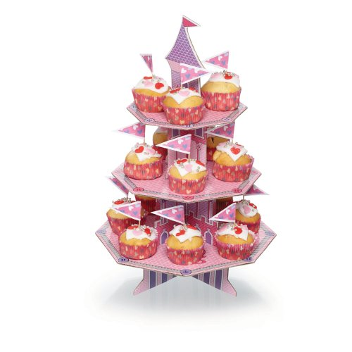 Kitchen Craft Miniamo Fluttercup Three Tier Magical Castle Cupcake for $<!--$10.53-->